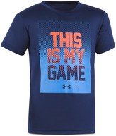 Under Armour Boys' This Is My Game Tee