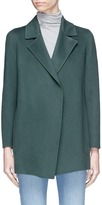 Theory 'Clairene' wool-cashmere melton coat