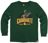 Carhartt Greener Pastures 'Carhartt' Graphic Tee - Boys