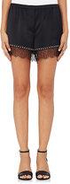 Alexander Wang Women's Silk Bloomer Shorts-BLACK