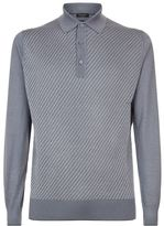 Stefano Ricci Buttoned Knit Polo Top