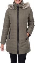 FLEETSTREET COLLECTION Fleet Street Quilt Fur-Lined Jacket