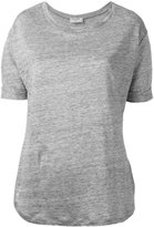 Frame plain T-shirt - women - Linen/Flax - XS