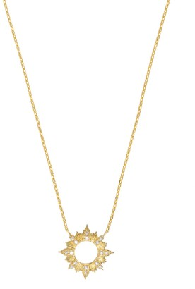 Wanderlust + Co Sunseeker Gold Necklace