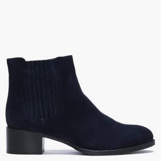 Calpierre Igana Navy Suede Chelsea Boots
