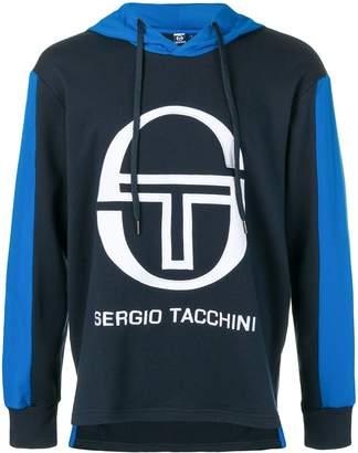 Sergio Tacchini logo hooded sweatshirt