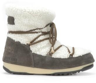 Yves Salomon Shearling Moon Boots