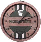Unbranded Michigan State Spartans Metal Wall Clock