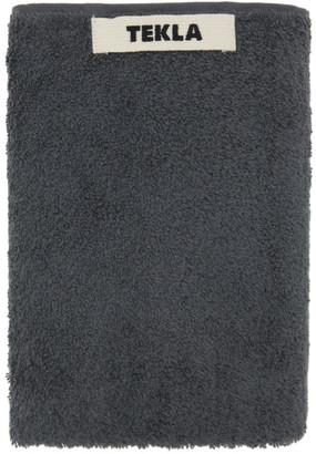 Tekla Grey Organic Hand Towel