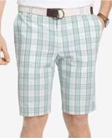Izod Men's 10.5and#034; Portsmith Plaid Shorts