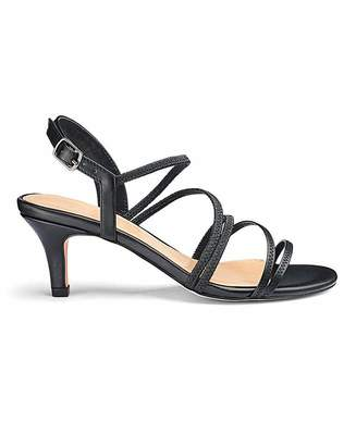 Jd Williams Strappy Heeled Sandals E Fit