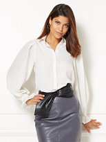 New York & Co. Eva Mendes Collection - Romy Puff-Sleeve Blouse