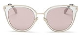 Kate Spade Jazzlyn Mirrored Cat Eye Sunglasses, 51mm