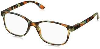 Peepers Unisex-Adult Bronx 2192100 Square Reading Glasses