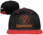 YOUsbb Jagermeister Logo Adjustable Snapback Baseball Cap Hip-hop Hats