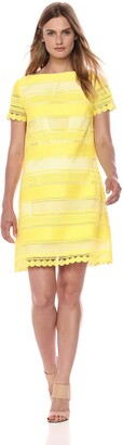 Tahari by Arthur S. Levine Women's SS Chemical Lace Dress