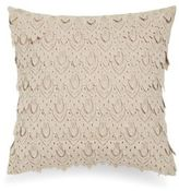 Thro Solid Cutout Throw Pillow