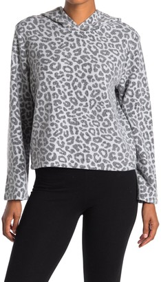 Alternative Eco-Teddy Flared Printed Pullover Sweater
