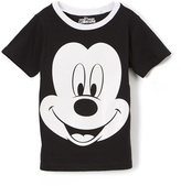 Children's Apparel Network Mickey Mouse Black Tee - Boys