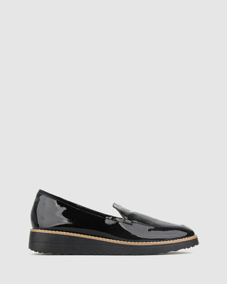 Airflex Blade Patent Leather Loafers