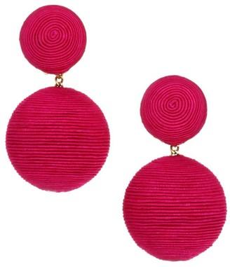 Rebecca De Ravenel Classic Woven Double Drop Earrings
