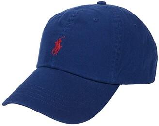 Polo Ralph Lauren Cotton Chino Classic Sport Cap (Holiday Sapphire) Caps