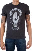 Novelty T-Shirts Fan Spell Hand Short Sleeve Graphic T-Shirt