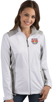 Antigua Women's New York Red Bulls Revolve Full Zip Jacket