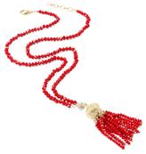 Amrita Singh Ankara Tassel Pendant Necklace