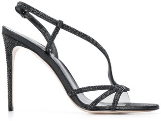 Le Silla Crystal-Embellished Sandals