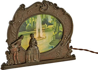 Rejuvenation Scene in Action Colonial Fountain Motion Lamp