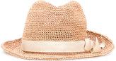 CA4LA Sensitive hat - women - Raffia/Viscose - One Size