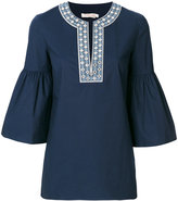 Tory Burch Ariana tunic blouse - women - Cotton/Polyester/Spandex/Elastane - 2