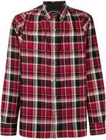 Alexander McQueen plaid button down shirt