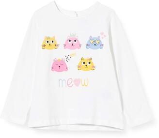Chicco Baby Girls' T-Shirt Manica Lunga Bimba Kniited Tank Top