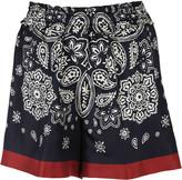 Moncler Paisley Shorts