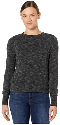 Prana Sunrise Sweatshirt (Black) Women's Sweatshirt