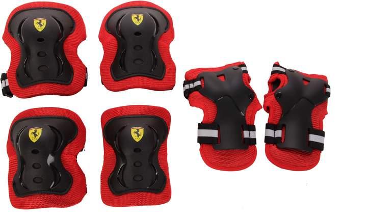 Ferrari (フェラーリ) - Ferrari 6-Piece Elbow Pads, Knee Pads & Wrist Pads Set