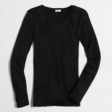 J.Crew Factory Fine-rib cotton long-sleeve T-shirt