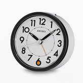 Seiko Pelican Metal Bedside Alarm Clock - QHE096WLH