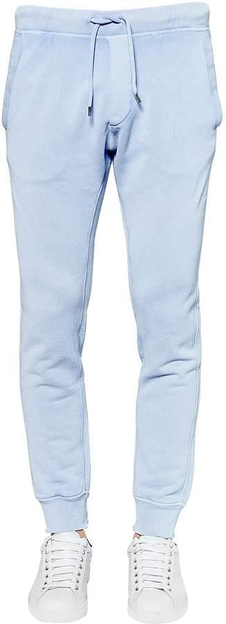 DSQUARED2 Skinny Cotton Jersey Sweatpants