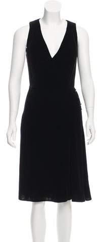 Armani Collezioni Velvet Evening Dress