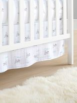 Aden Anais Liam The Brave Cotton Muslin Crib Skirt