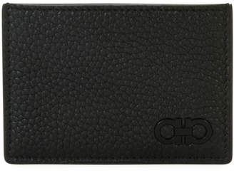 Salvatore Ferragamo Men's Tonal Gancini Leather Card Case