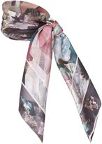 Ted Baker Mirrored minerals square scarf