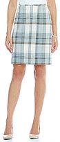 Katherine Kelly Phoebe Plaid Skirt