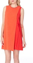 Tahari Petite Women's Asymmetrical Shift Dress