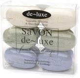 De-Luxe SaVON Bar Soap Set Mixed Scent