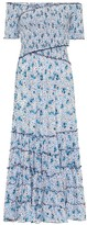 Poupette St Barth Exclusive to Mytheresa Off-shoulder floral maxi dress