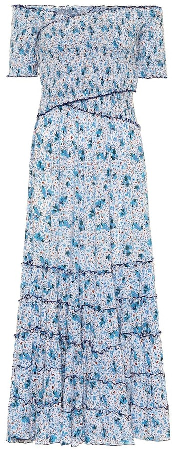 Poupette St Barth Exclusive to Mytheresa Soledad floral maxi dress